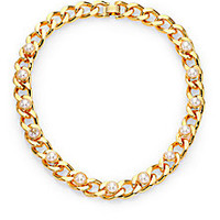 Tory Burch - Winchel Chain Collar Necklace - Saks Fifth Avenue Mobile