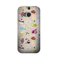 P2321 Food and Drink Seamless Case For HTC ONE M8