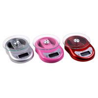 Kitchen Scales 5000g/1g 5kg Food Diet Postal LED LCD electronic Digital household scale portable mini platform balance weight