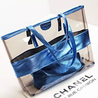 Beach Sweets Transparent Bags Crystal Shoulder Bags [6582430151]