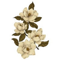 Jessica Roux's Magnolias Wall Decal