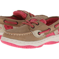 Sperry Top-Sider Kids Bluefish (Toddler/Little Kid) Linen/Pink Leather - Zappos.com Free Shipping BOTH Ways