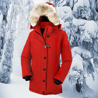 Canada Goose Canada Goose down jacket outdoor wear thick long section of female mounta