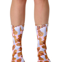 Milk and Cookies Crew Socks
