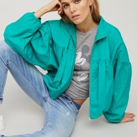 Free People Now Or Never Nylon Bomber