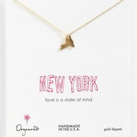 Dogeared 'State of Mind - New York' Pendant Necklace | Nordstrom