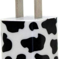 Cow Print Phone Charger