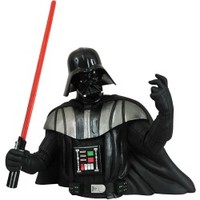 Diamond Selects Star Wars Darth Vader Bust Bank - Review Buy Info - @ Nshopxii.com
