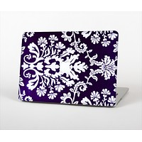 """The Blue & White Delicate Pattern Skin Set for the Apple MacBook Air 11"""""""