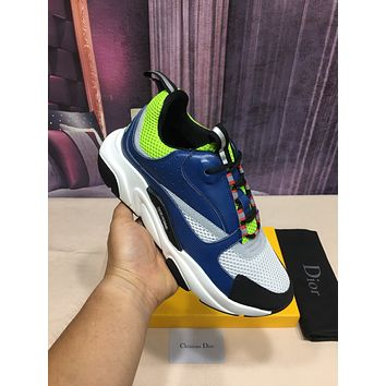 Christian Dior Fashion Men Women's Casual Running Sport Shoes Sneakers Slipper Sandals High Heels Shoes