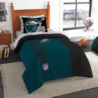 Philadelphia Eagles NFL Twin Comforter Bed in a Bag (Soft & Cozy) (64in x 86in)