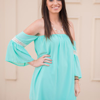Brush It Off Blouse - Mint