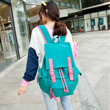 Korean Sweets Canvas Lovely Innovative Travel Bags [8384617543]