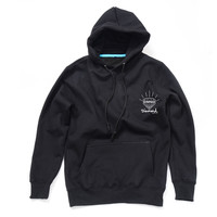 Diamond Supply Co Men's Black Hoodie Cool Hooded Sweatshirt Unique Design Long-Sleeved Hoody