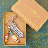 Not All Who Wander Are Lost Santa Fe Keychain