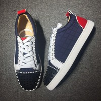 Cl Christian Louboutin Low Style #2014 Sneakers Fashion Shoes