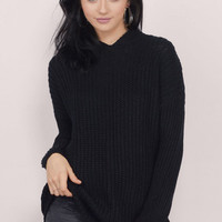 Lolo Knit Hooded Sweater $46