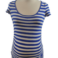 Blue & White Stripe T-Shirt by Old Navy
