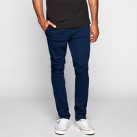 Rsq London Mens Skinny Chino Pants Navy  In Sizes