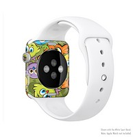 The Colorful Highlighted Cartoon Birds Full-Body Skin Kit for the Apple Watch