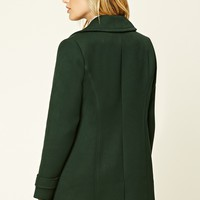 Notched Collar Coat