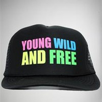 'Young Wild and Free' Trucker Hat