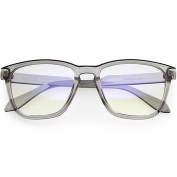 Square Retro Anti Eye Strain Computer Blue Light Blocking Glasses D226