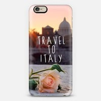Travel to Italy iPhone 6 case by Emanuela Carratoni | Casetify