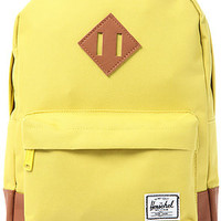 Herschel Supply Backpack Heritage Kids in Lime Punch