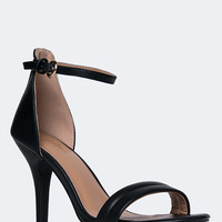 Marvel Ankle Strap High Heel Sandal