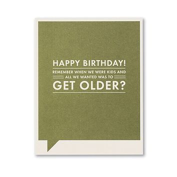 Birthday Greeting Card - Happy Birthday!