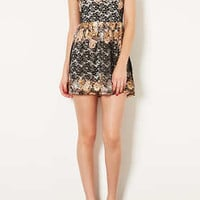 Floral Lace Tunic Dress - New In This Week  - New In