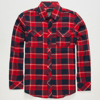 Micros Elko Boys Flannel Shirt Red  In Sizes