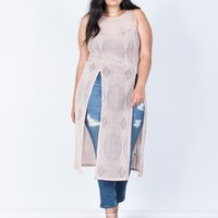 Plus Size Summer Vacay Maxi Top