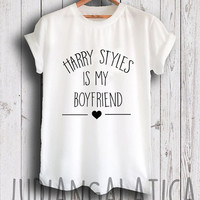 harry styles shirt harry styles is my boyfriend tshirt unisex size