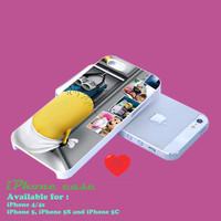 minion on despicable me case for samsung galaxy s3,s4, iphone 4/4s, iphone 5. iphone 5s. iphone 5c case