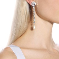 Embellished clip-on earrings