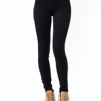 high-waisted-skinny-jeans BLACK CORAL MINT YELLOW - GoJane.com