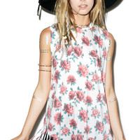 Wildfox Couture Gypsy Roses Tank Multi