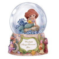 Wonderful Things Surround You - Disney Ariel Musical Water Globe - Precious Moments