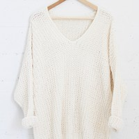 Polly Knit Sweater - Ivory