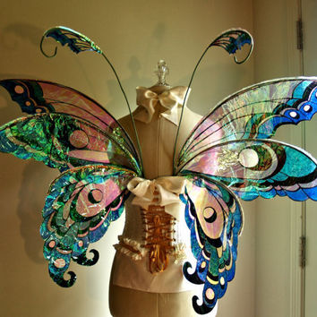 Fairy Wings Halloween Costume Faerie by WhimsyEverlasting on Etsy