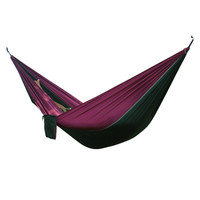 Double Outdoors Indoor Parachute Cloth Sleeping Hammock Strong Camping Swing Leisure Flyknit Hamac Hamaca Hamak Garden Hangmat