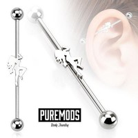Stripper Industrial Barbell (14G)