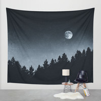 Under Moonlight Wall Tapestry by Tordis Kayma | Society6