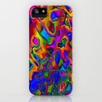 Chromatic Convections iPhone & iPod Case by David Gough