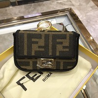 Fendi Women Leather Shoulder Bags Satchel Tote Crossbody Satchel