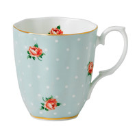 Royal Albert Polka Rose Vintage Mug