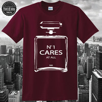 No one cares T Shirt Coco Vintage Womens Cc I M Love Auth Cotton Shirts Me inspired brandy youth graphic tee Trend Funny Modern