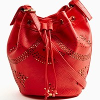 Cruise Control Bucket Bag - Red